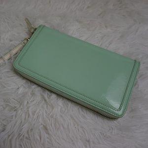 70c07a99d006b5 Halogen Zip Around Wristlet Clutch Wallet
